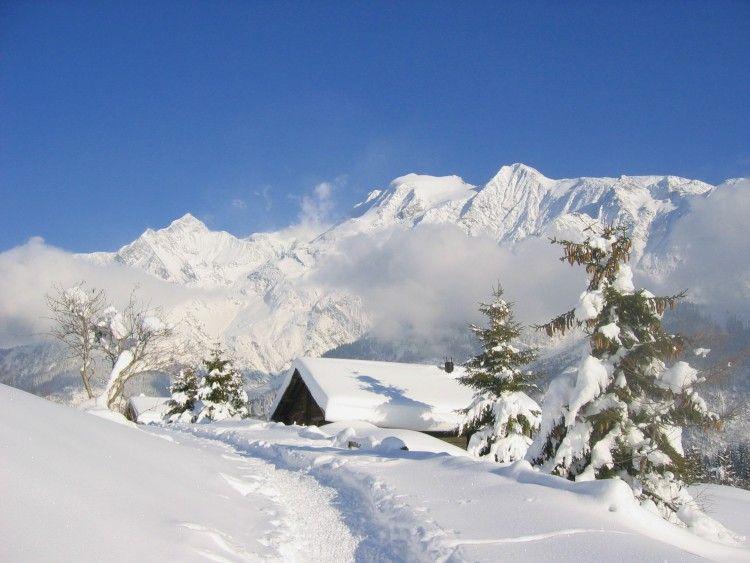 Fonds D Ecran Nature Fonds D Ecran Montagnes Face Au Mont Blanc Par Jako Hebus Com Fond Ecran Montagne Fond Ecran Nature Paysage