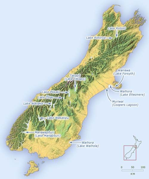 South Island lakes  New Zealand  Pinterest  South island and Lakes