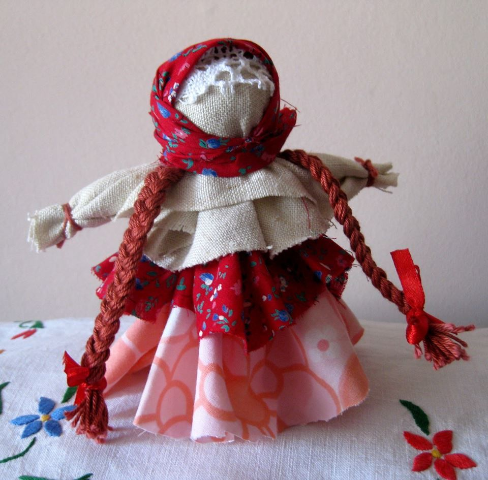 Как сделать куколку фото