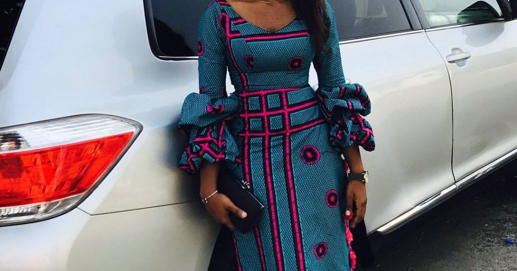 Check Out This Stylish Ankara Long Gown Styles For Slim