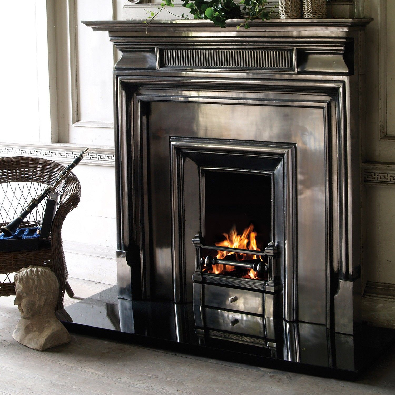 Nice The Belgrave Royal Is A Large Cast Iron Fireplace With Strong Geometric  Designs Typical Of The Edwardian Era. The Fireplace Consists Of The  Belgrave Cast ... Good Looking