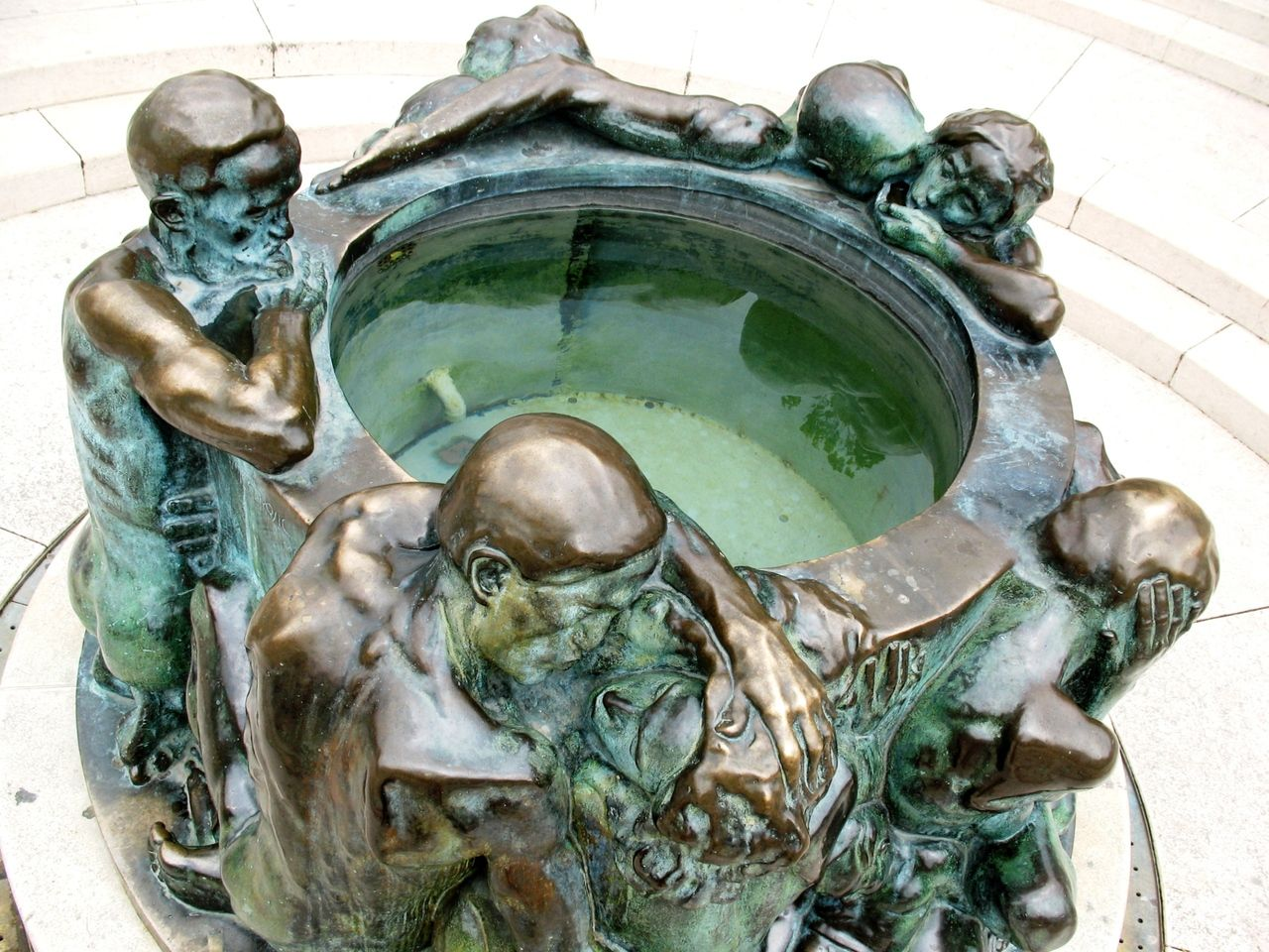 Zdenac Zivota Mestrovic Zagreb Art Deco Sculpture Art Ivan Mestrovic