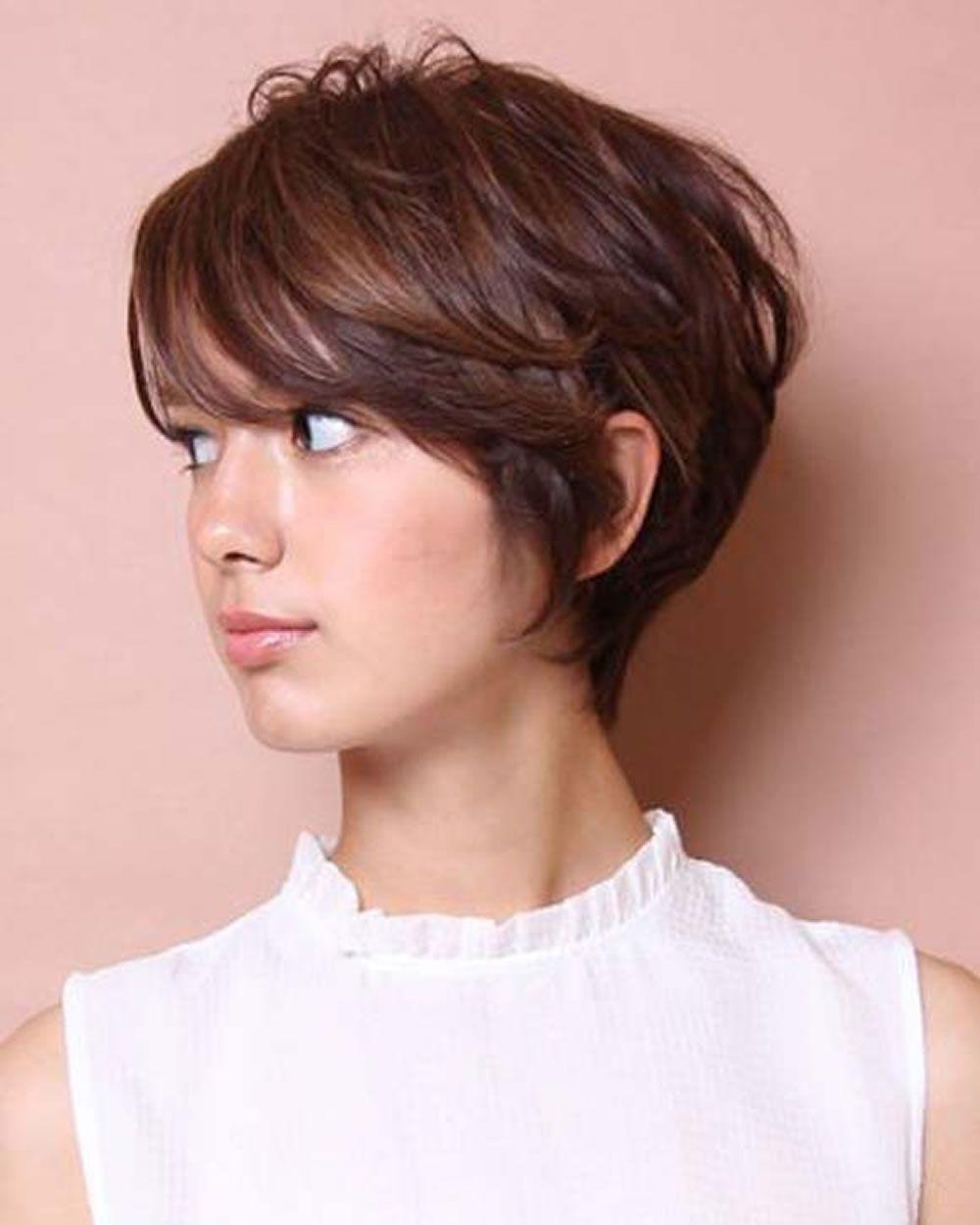 Kurze frisuren und makeupeinstellungen für short