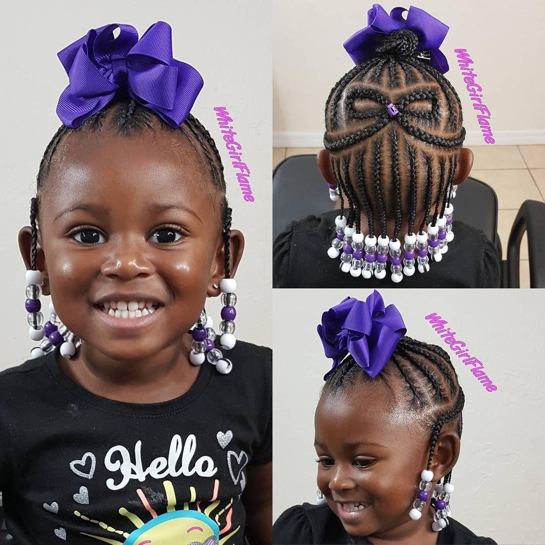 Hooked my girl up whitegirlflame kidsbraids hairstyles for