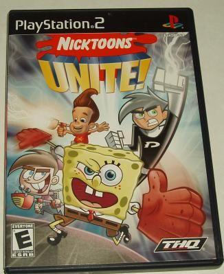 nicktoons games ps2