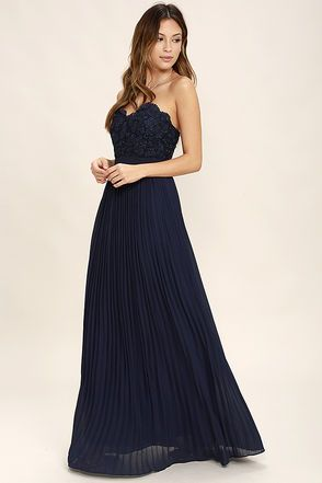 Strapless Long And Flow This Dress Is Simple Yet Detailed The Fl Print On Top Of Subtle Gives It A Little Something Extra