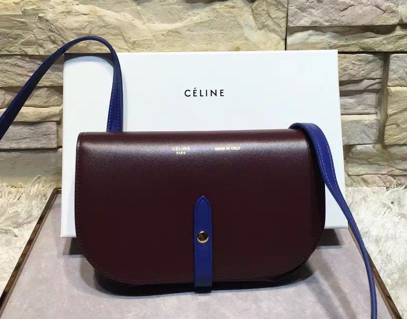 25d909135 Celine Strap Clutch On Strap In Shiny Calfskin Size:19×10 cm Original  leather Comes with serial numbers,authenticity card, dust bag and c.
