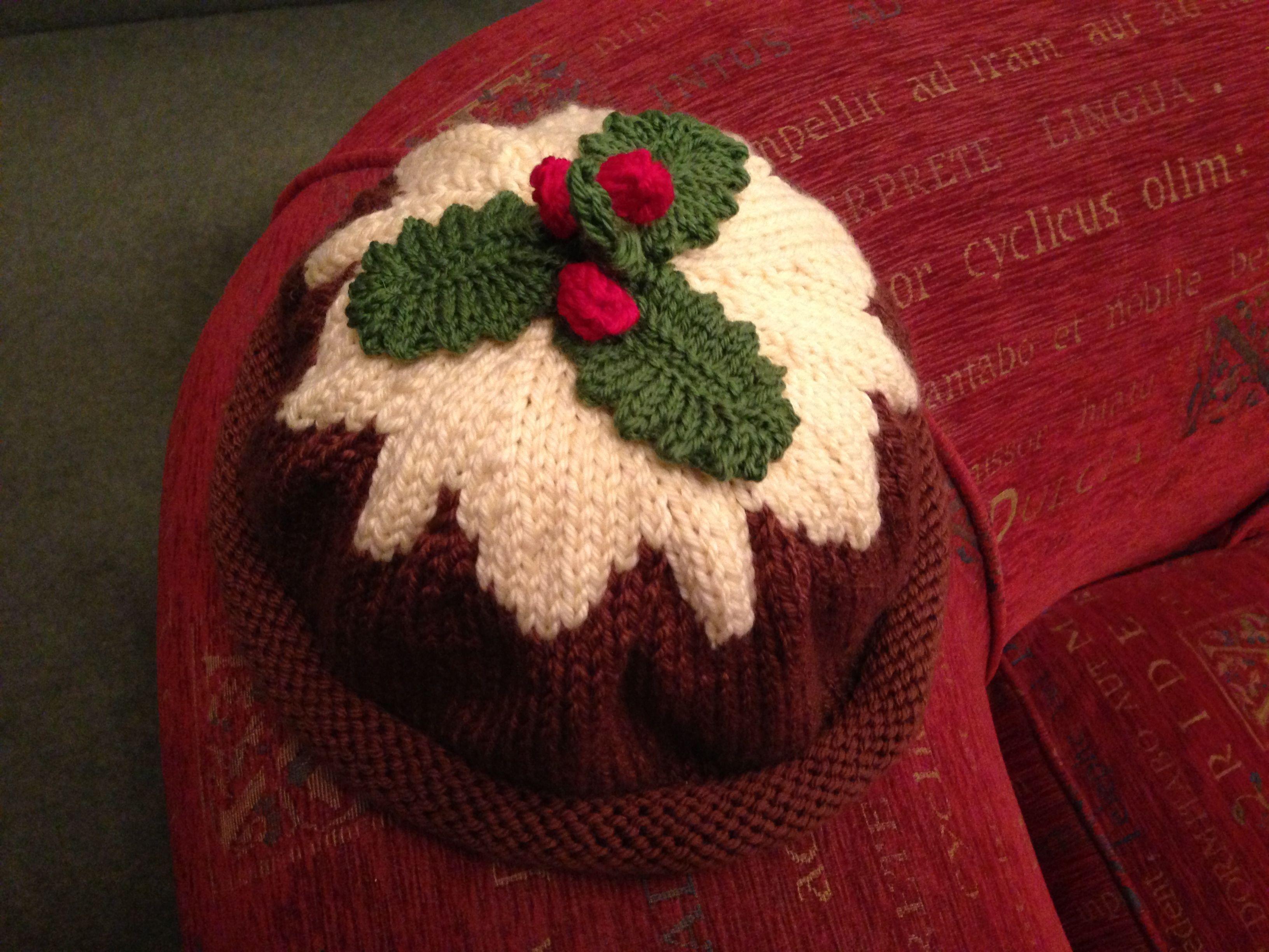 Knitting Pattern Xmas Pudding Hat : Christmas Pudding Hat My Knitting Pinterest Christmas Pudding, Puddings...