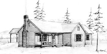 Country Home Plan F-1554