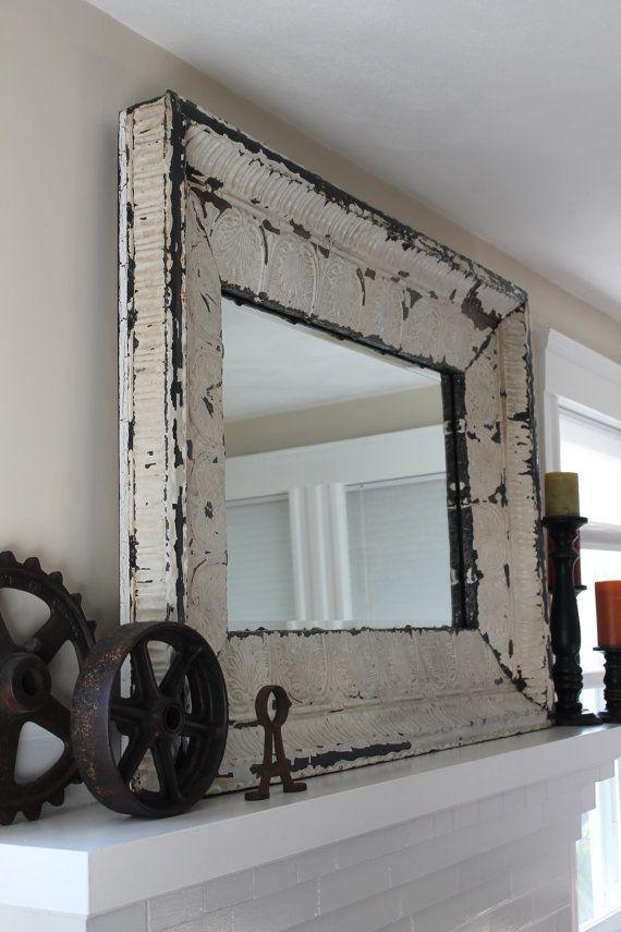 Marco para espejo... | Ideas para casita ♥ | Pinterest | Marcos ...