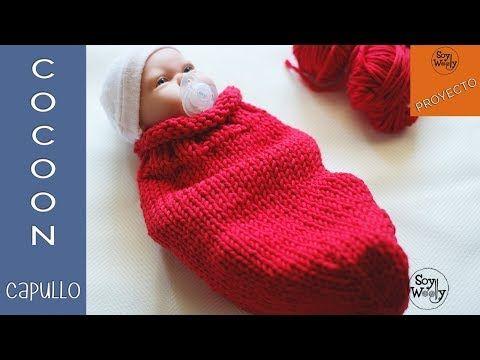 Cómo tejer una manta de bebé muy fácil en Punto Elástico \