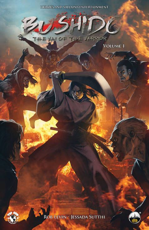 It's the way of the samurai vs vampires in Bushido, the upcoming graphic novel from Top Cow Productions.