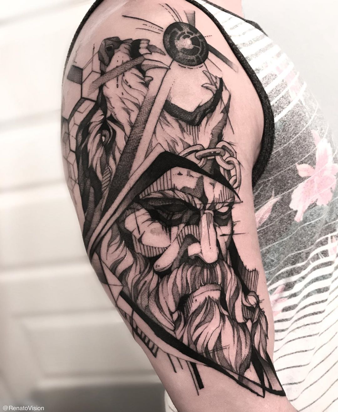 101 Amazing Odin Tattoo Ideas That Will Blow Your Mind! in ...