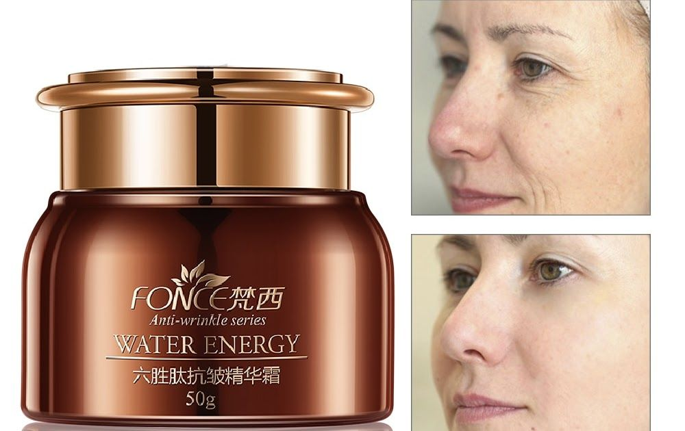 Promo Offer Fonce Face Anti Wrinkle Cream Day Cream Moisturizer Six Peptide  Aging Serum creme anti rugas Hydrating Lifting Facial Firming
