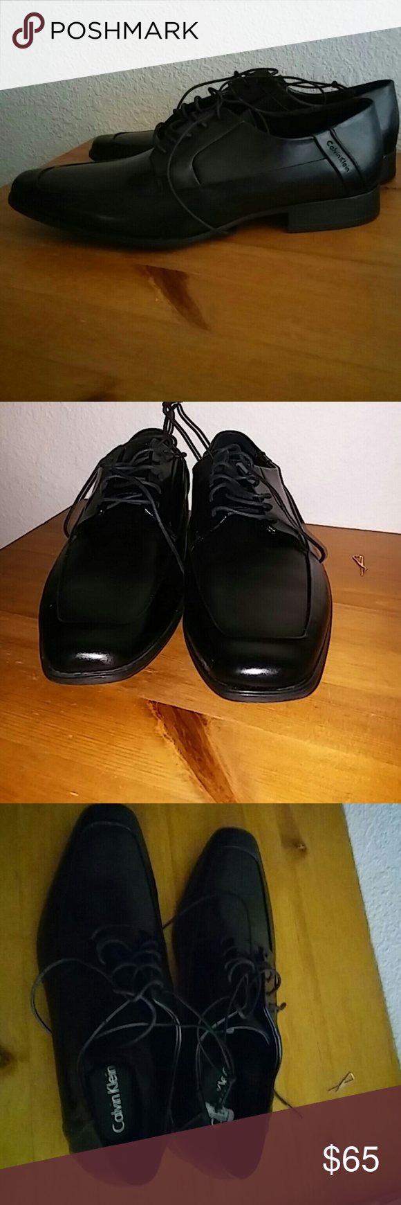 Calvin Klein Dress Shoes for men Bought them but didn't fit me well never used them. Calvin Klein Shoes Oxfords & Derbys