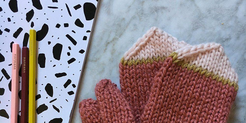 tricoter des moufles