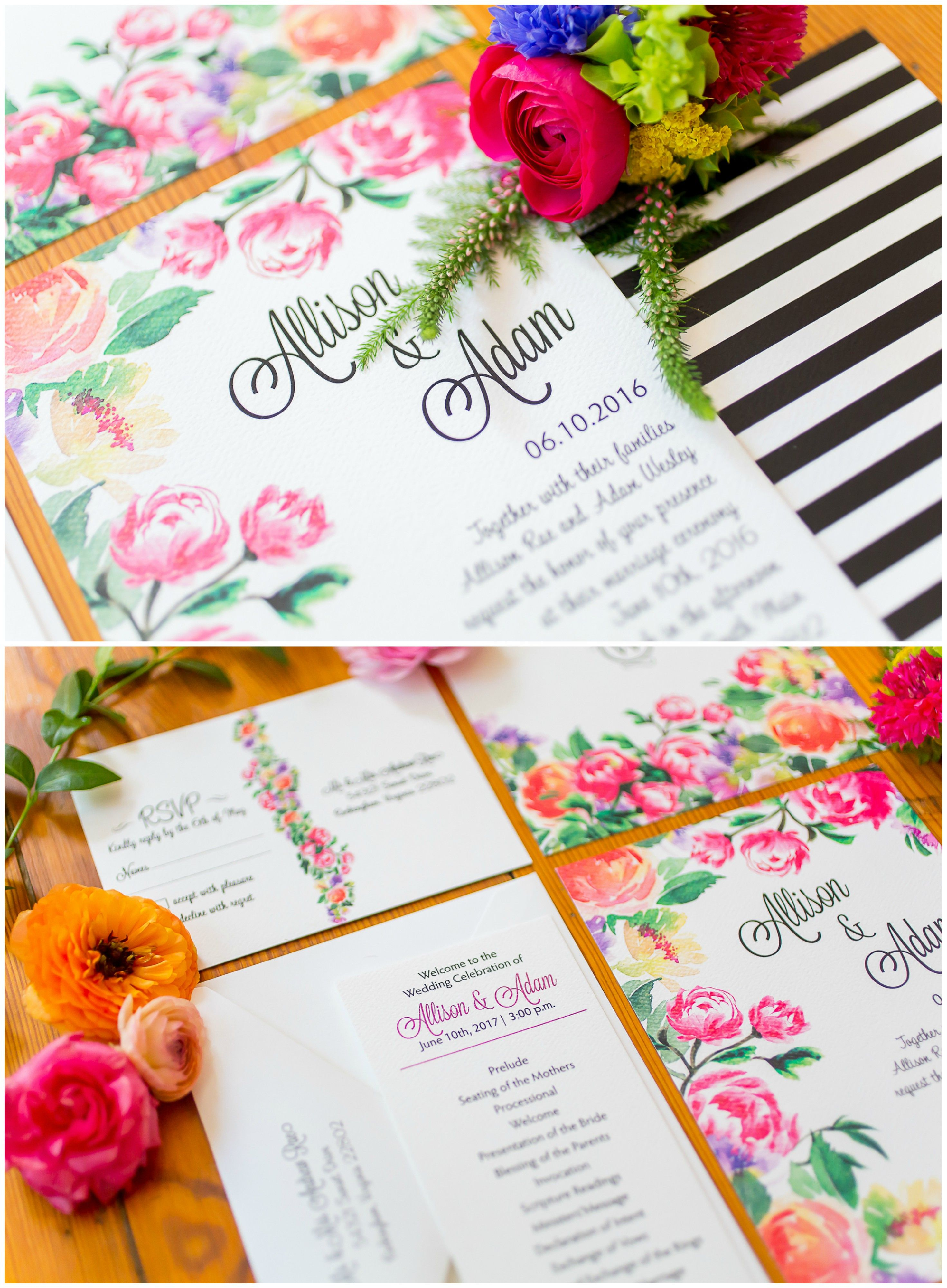 The Smarter Way to Wed | Colorful wedding invitations, Colorful ...
