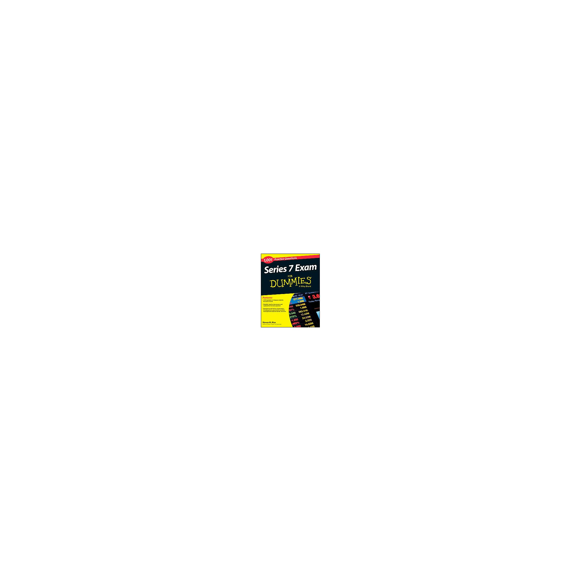 1,001 Series 7 Exam Practice Questions for Dummies (Paperback) (Steven M.  Rice)