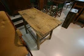 Risultati immagini per tavolo legno esterno grezzo | Tavolo ...
