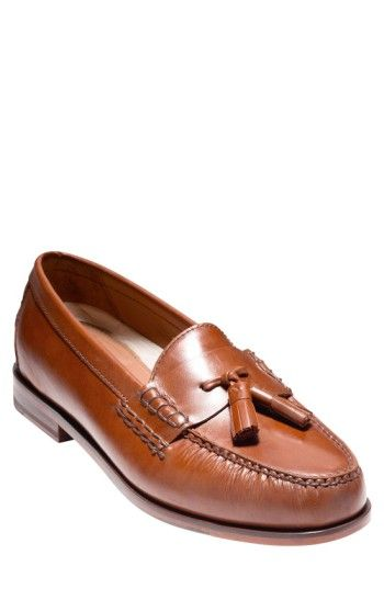 2c1c0c7f14f COLE HAAN  PINCH GRAND  TASSEL LOAFER.  colehaan  shoes
