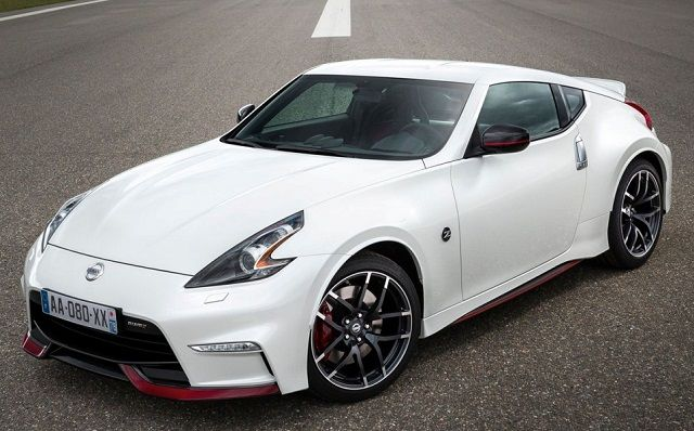 2017 Nissan 370z Nismo Front