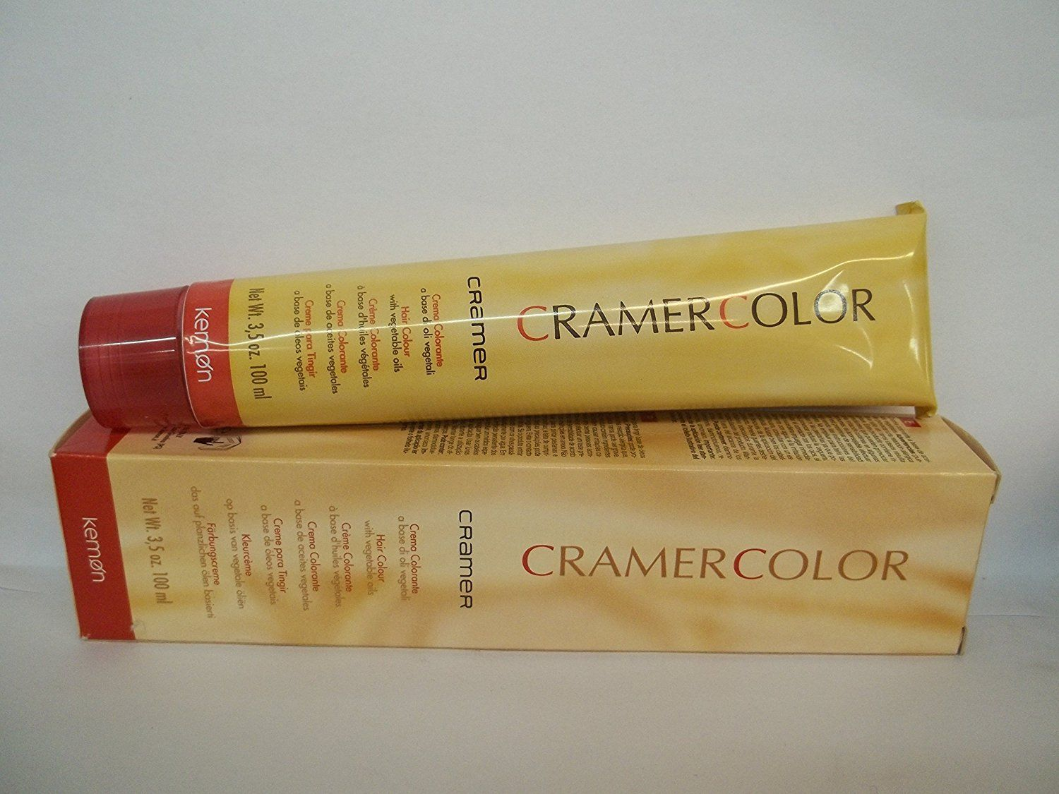 Cramer Color Hair Colour With Vegetable Oils 4 43 Brown Copper