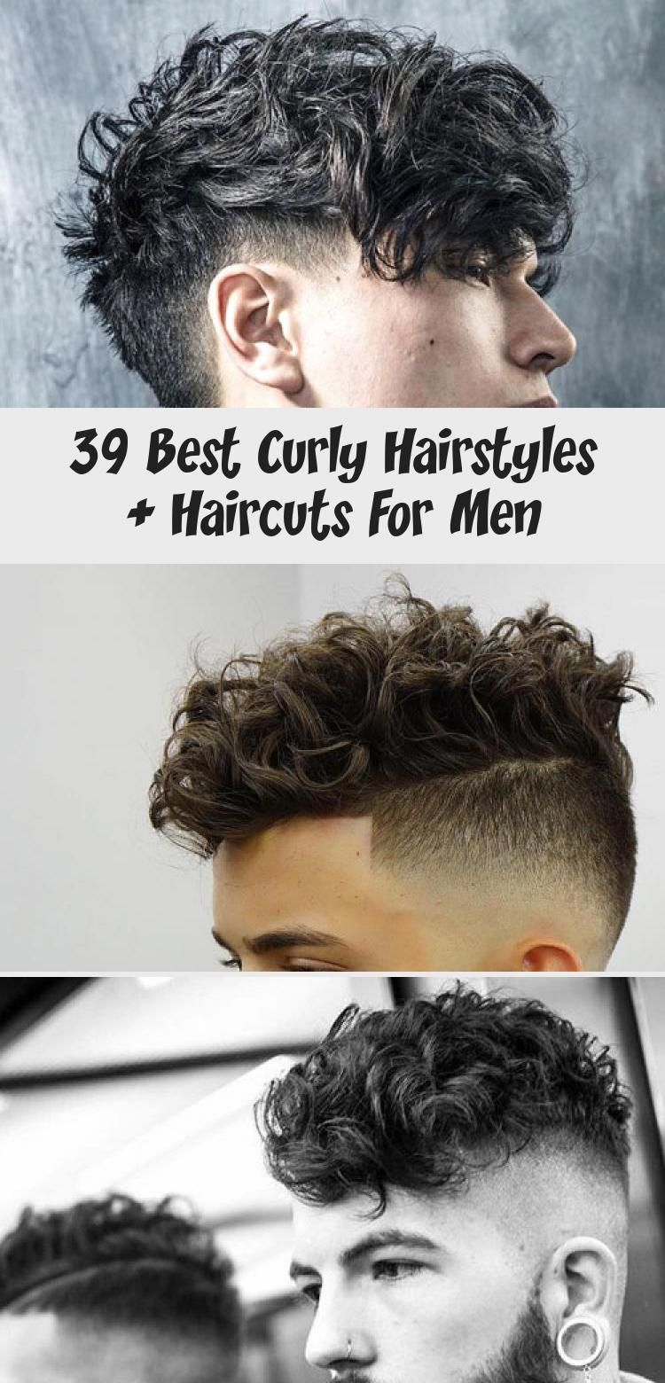 39 Best Curly Hairstyles + Haircuts For Men in 2020