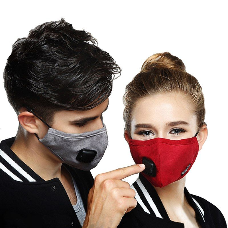 Back To Search Resultsbeauty & Health Kn95 Cotton Pm2.5 Anti Haze Mask Breath Valve Anti-dust Mouth Masks Activated Carbon Filter Respirator Mouth-muffle Black Mask Comfortable And Easy To Wear