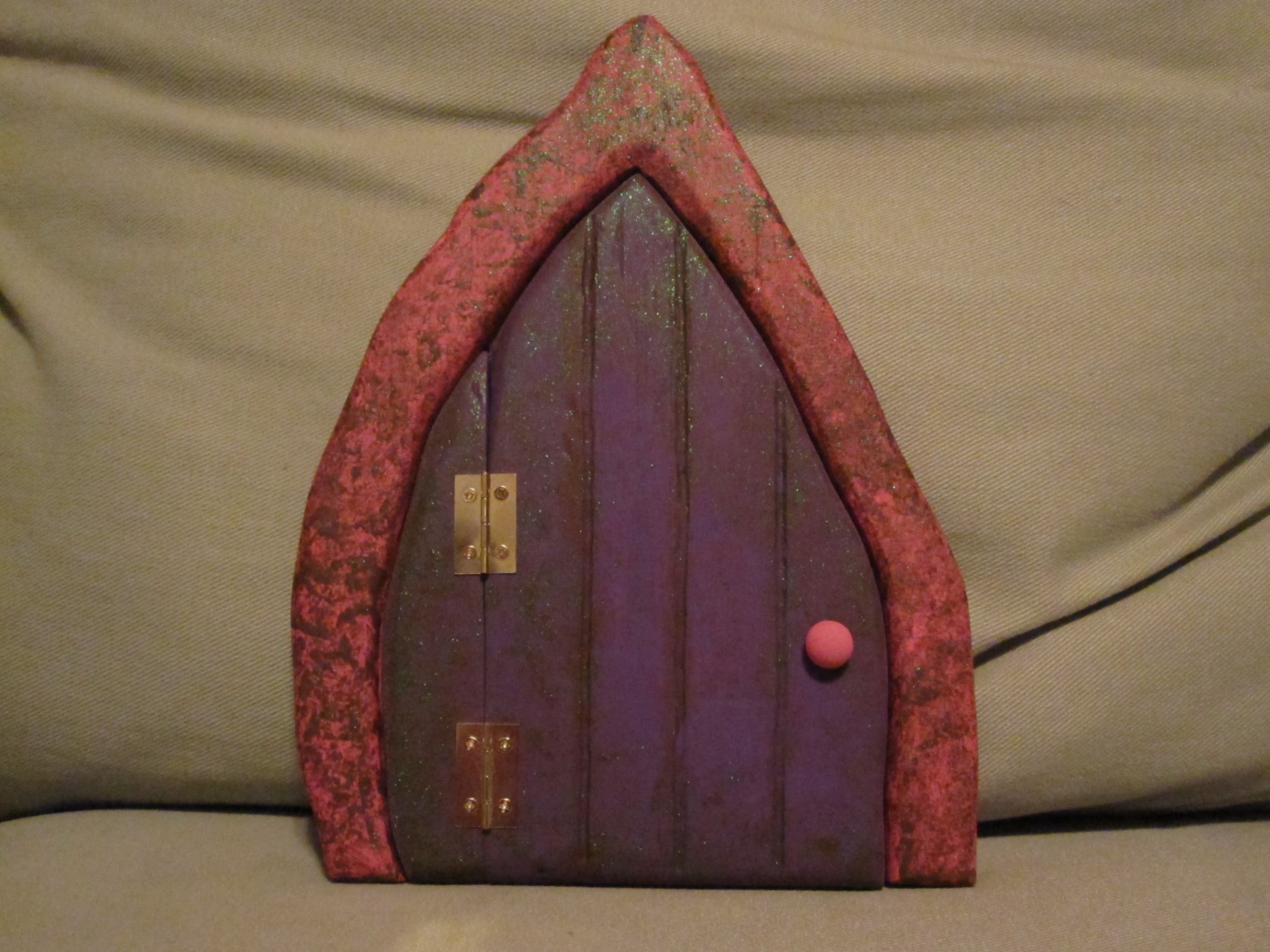 A fairy door I made for my daughter. scarydad.com