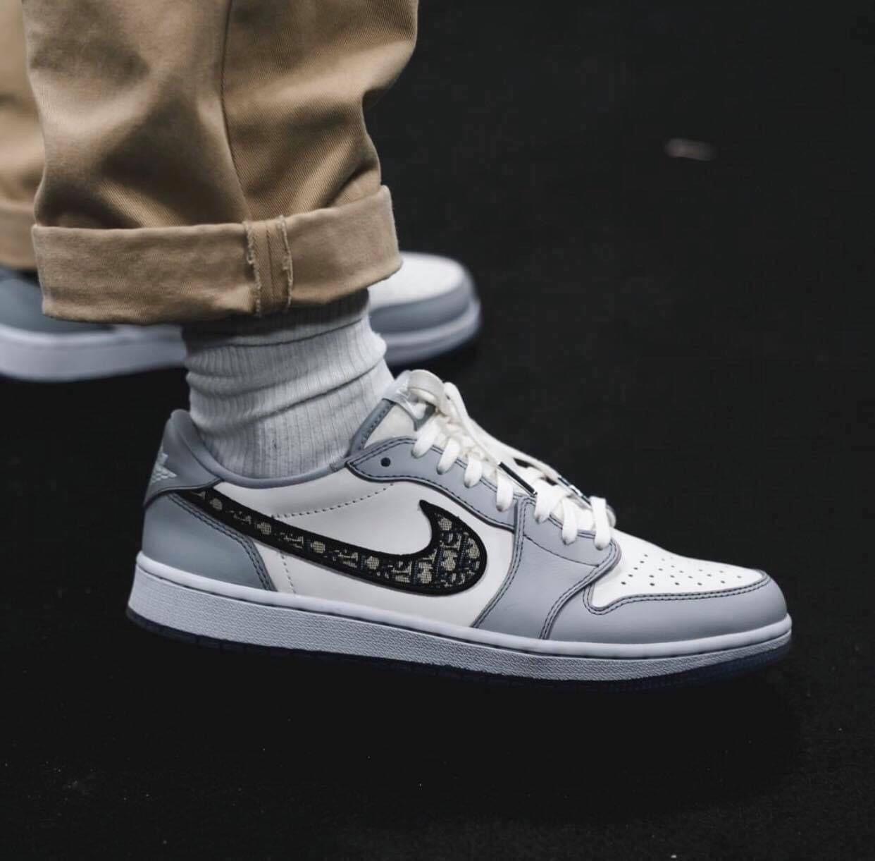 Dior x Air Jordan 1 Collections   Nike casual shoes, Nike fashion ...