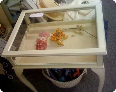 shadow box table For the Home Pinterest Shadow box table