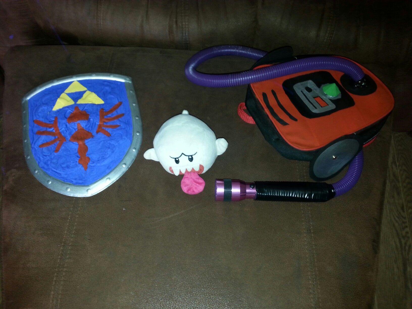 Home Made Zelda Sheal And Luigi S Mansion Dark Moon Vacuume