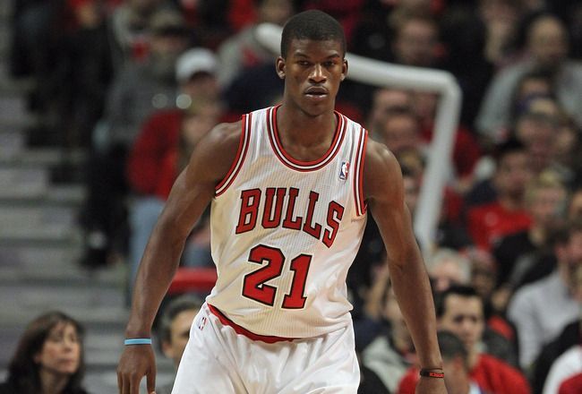 I'm a Marquette girl from Chicago - what's not to love about Jimmy playing for the Bulls?