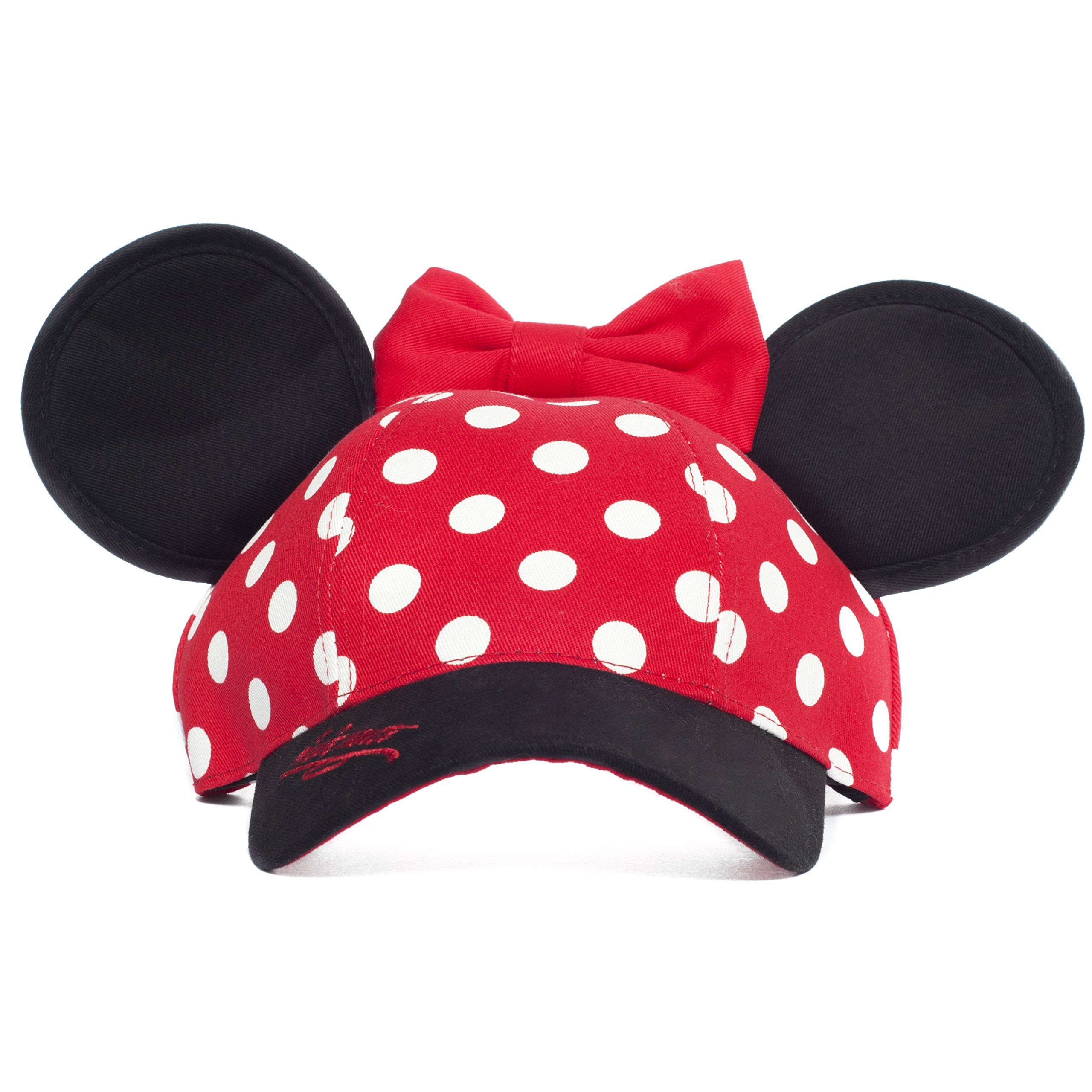 (Youth Size)Minnie Mouse Disneyland Polka Dot Snapback Cap with Ears -  Disney Parks Exclusive e8f7344ce083