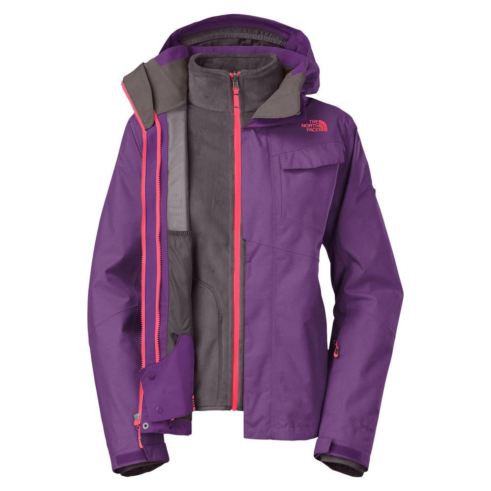 The North Face Helata Triclimate Ski Jacket Women S Gravity Purple Perfect For Curvy Petite Fra Ski Jacket Women Jackets For Women North Face Jacket Womens [ 1000 x 1000 Pixel ]