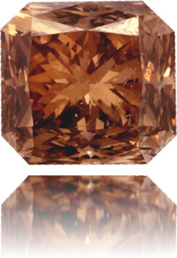Natural Brown Diamond Square 2 27 Ct Polished Brown Diamond Fancy Color Diamonds Gems And Minerals
