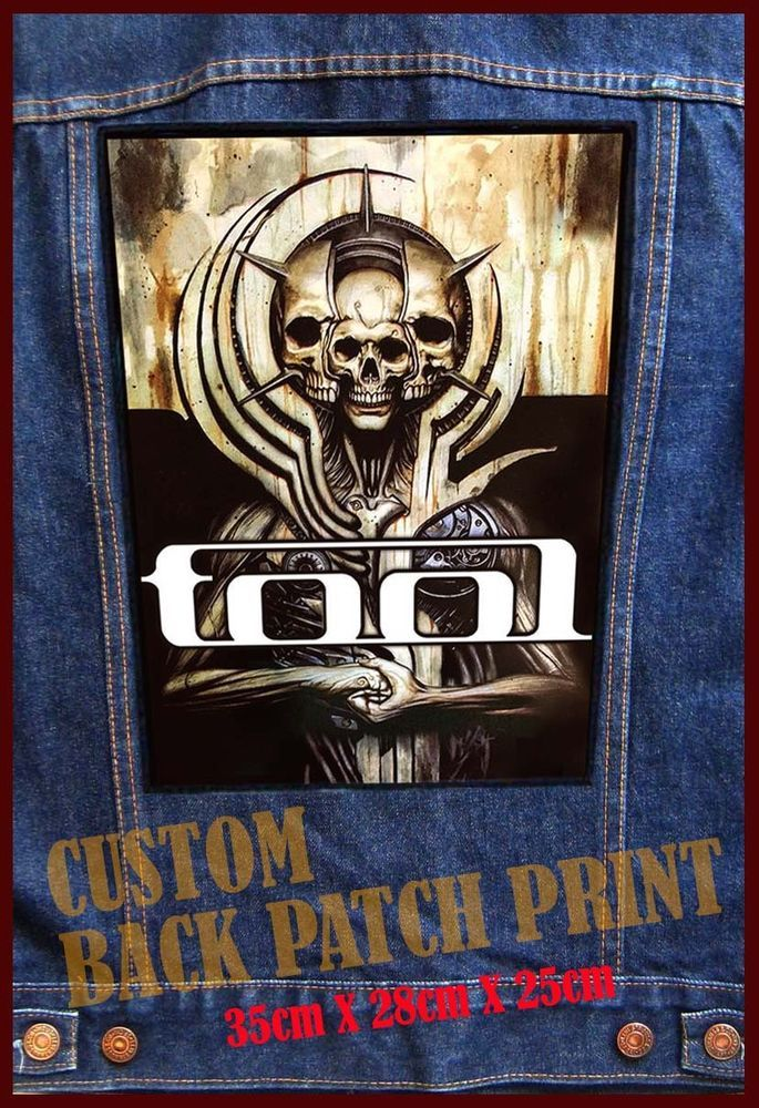 New TOOL 2016 Tour Printed BACK PATCH BACKPATCH Patches