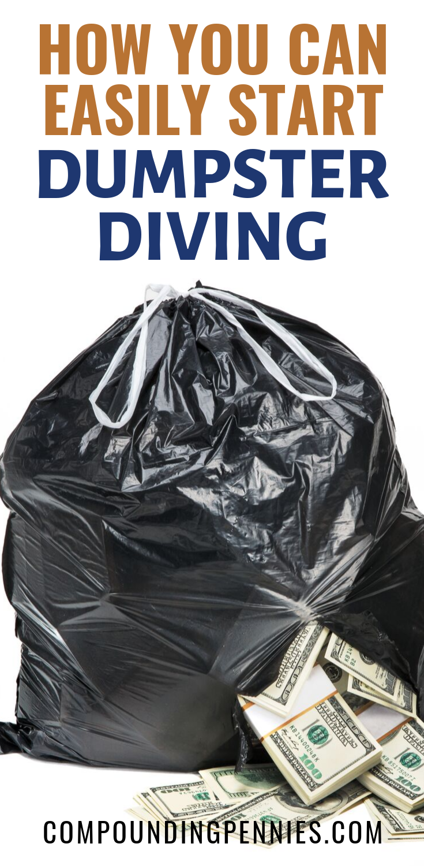 Frugal Dumpster Diving : frugal, dumpster, diving, Dumpster, Diving, Diving,, Dumpster,, Money, Saving