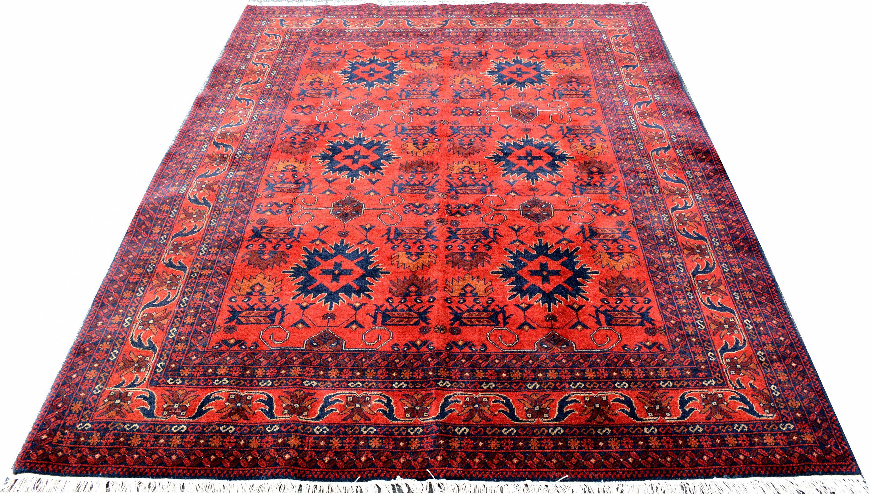 7x5 Afghan Khal Mohammadi Red Carpet Rugs Rug Persian Carpets Runner Kilim Turkish