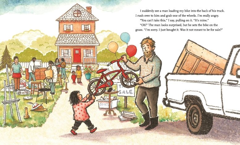 books4yourkids.com: Yard Sale by Eve Bunting, illustrated by Lauren Castillo