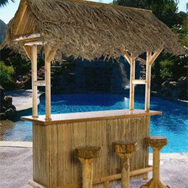 Tiki Bar Red Cedar Tiki Bar Custom Tiki Bars For Sale