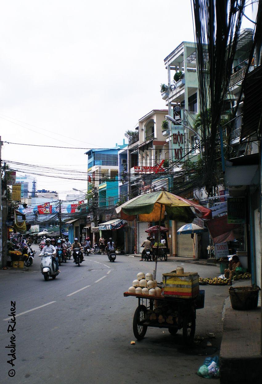 Saïgon, Vietnam, street vendor