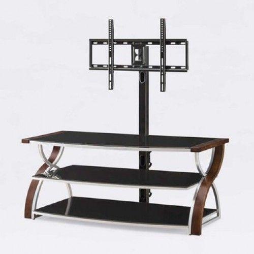 Importacion soporte para tv de madera cristal repisas - Repisas de pared ...