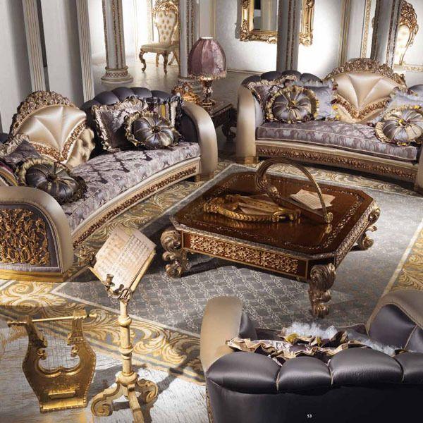 European Style Luxury Imperial Flower Decorative Living Room Set Aliexpress