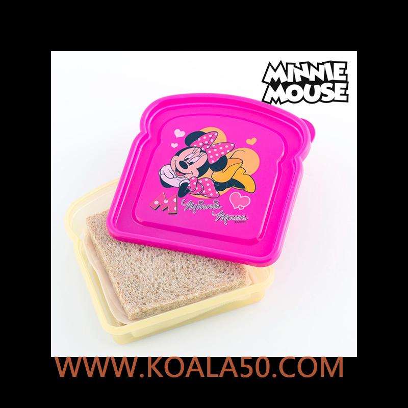 Porta-Sándwich Minnie Disney - 1,48 €  ¡El porta-sándwich MinnieDisneyes perfecto para que las niñas lleven el almuerzo o la merienda a cualquier parte! Esta pequeña tartera con la imagen de la popular ratoncita es ideal para...  http://www.koala50.com/menaje-infantil/porta-sandwich-minnie-disney