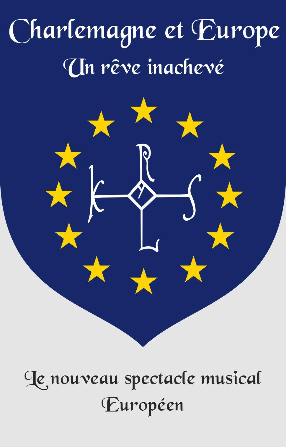 Carte De Visite Pour Lauteur Du Nouveau Spectacle Musical Europen Charlemagne Et Europe