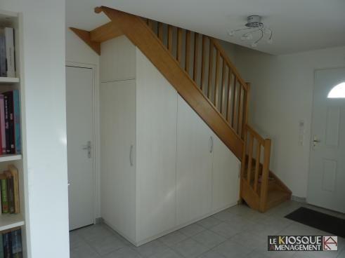 rangements sous escalier - Le Kiosque Aménagement Under stairs