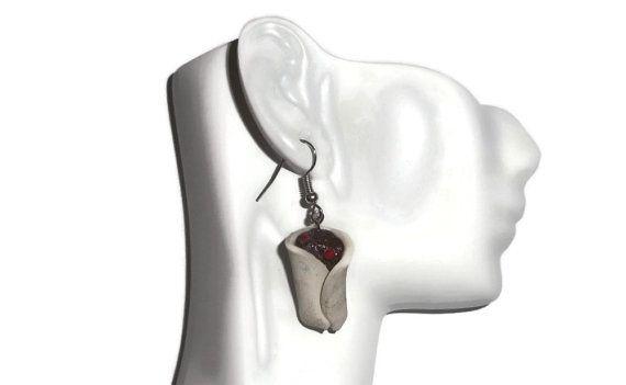 Burrito Earrings Miniature Fake Food Jewelry Dangle by FakeFoodUSA
