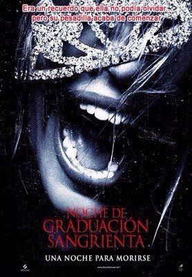 Noche De Graduación Sangrienta Poster De Peliculas Carteleras De Cine Películas Completas