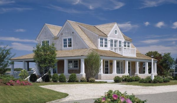 cape cod house plans with wrap around porch overlook | house styles